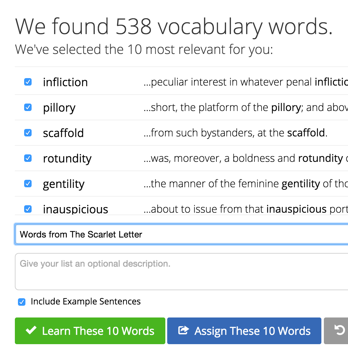 Learn the Words You Need to Know with Vocabulary Lists
